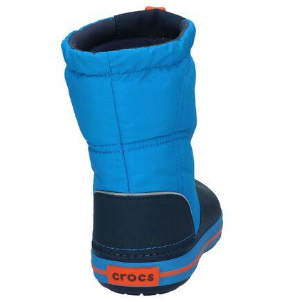 Crocs Crocband Lodgepoint Blauwe Snowboots in kunststof (224400)