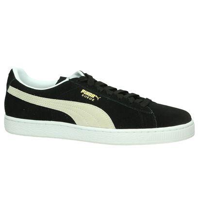 Zwarte Sneakers Puma Suede Classic in daim (199497)