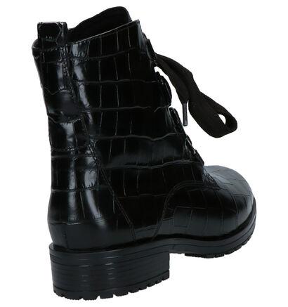 Gabor Zwarte Boots in lakleer (262279)