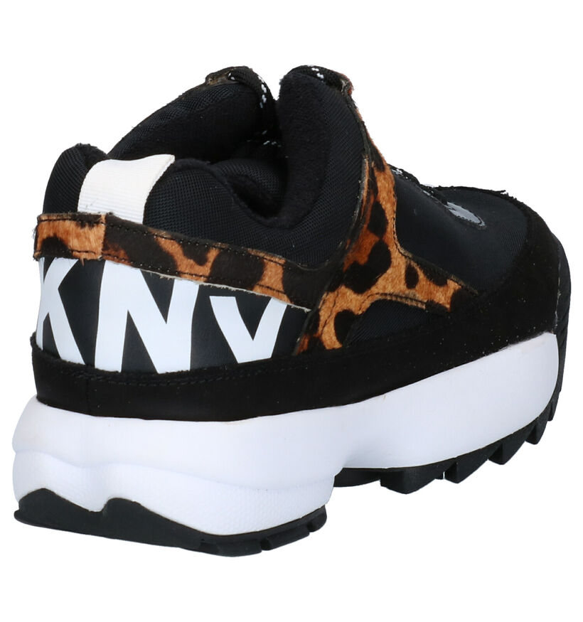 DKNY Baskets basses en Noir en textile (253715)