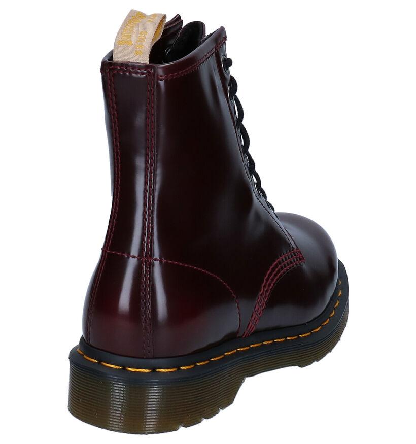 Dr. Martens 1460 Vegan Bordeaux Boots in kunstleer (277087)