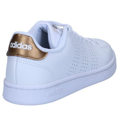 adidas VS Advantage Witte Sneakers in kunstleer (264883)