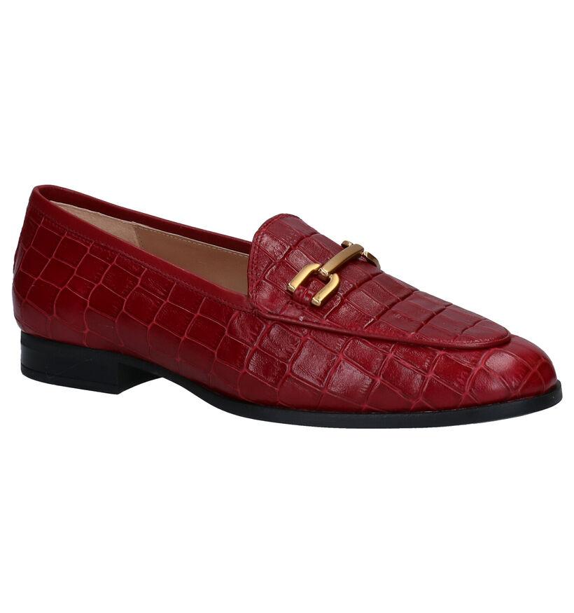 Unisa Daimiel Zwarte Loafers in leer (283300)