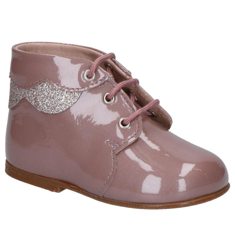 Eli Chaussures pour bébé  en Rose foncé en cuir (260860)