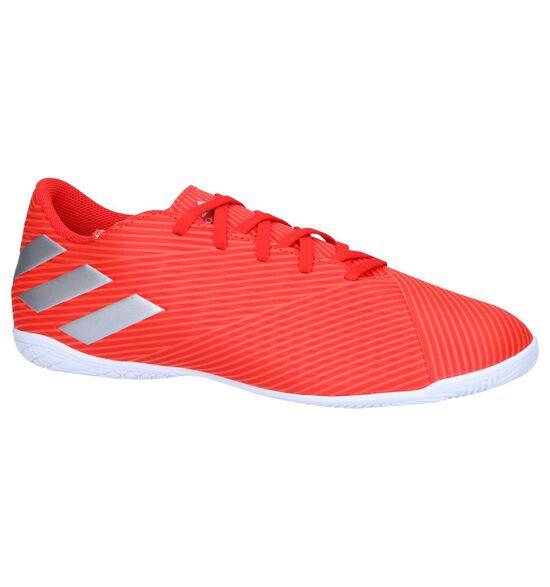 adidas Nemiziz Messi Chaussures de Foot pour Intérieur en Rouge