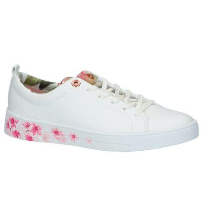 Witte Lage Geklede Sneakers Ted Baker Kelleip, Wit, pdp