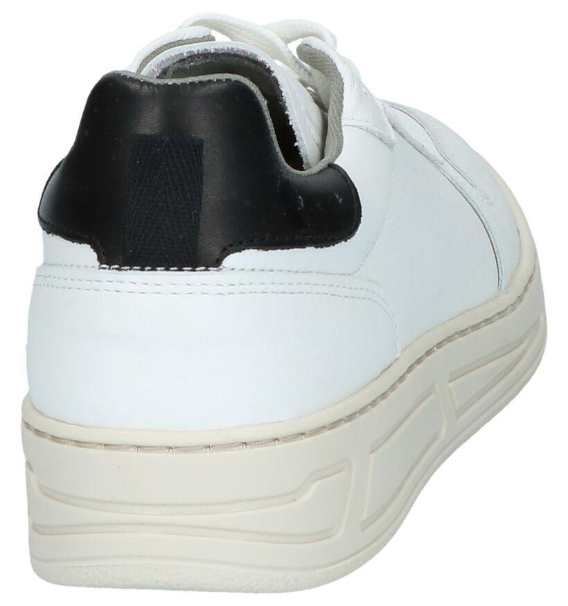 Youh! Baskets basses en Blanc en cuir (239240)