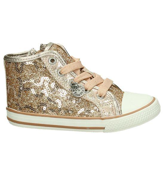 Kipling Roze Rits/Veter Sneakers met Glitters