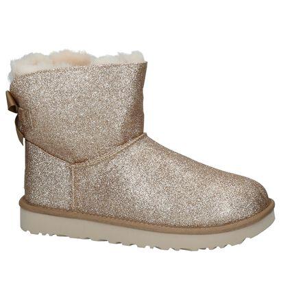 Gouden Boots UGG Mini Bailey in kunstleer (223596)