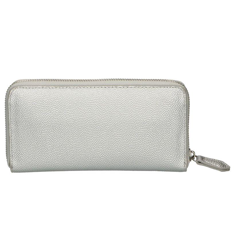 Valentino Handbags Porte- monnaie zippé en Argent en simili cuir (248383)