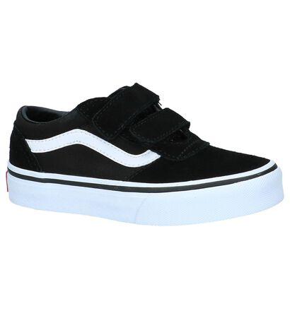 Zwarte Lage Skateschoenen Vans Milton in stof (235951)