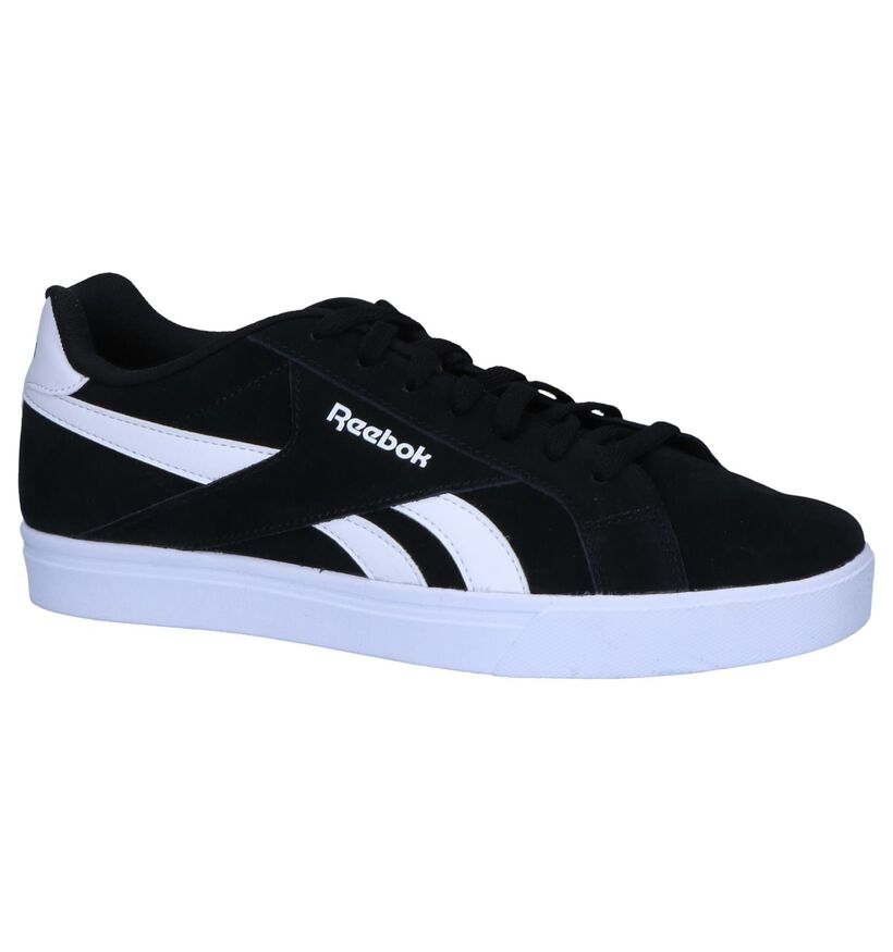 Zwarte Sneakers Reebok Royale Complete in daim (252452)