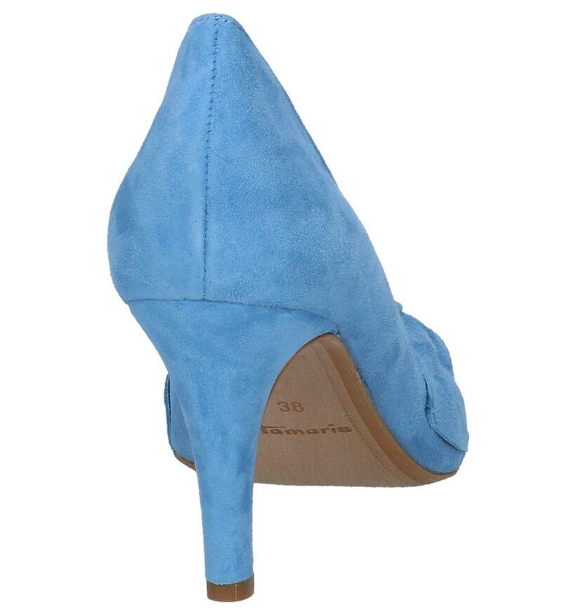 Tamaris Escarpins classique en Bleu en daim (215706)