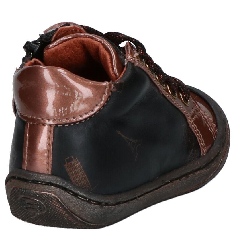 STONES and BONES Wala Chaussures enfants en Bronze en cuir (255499)