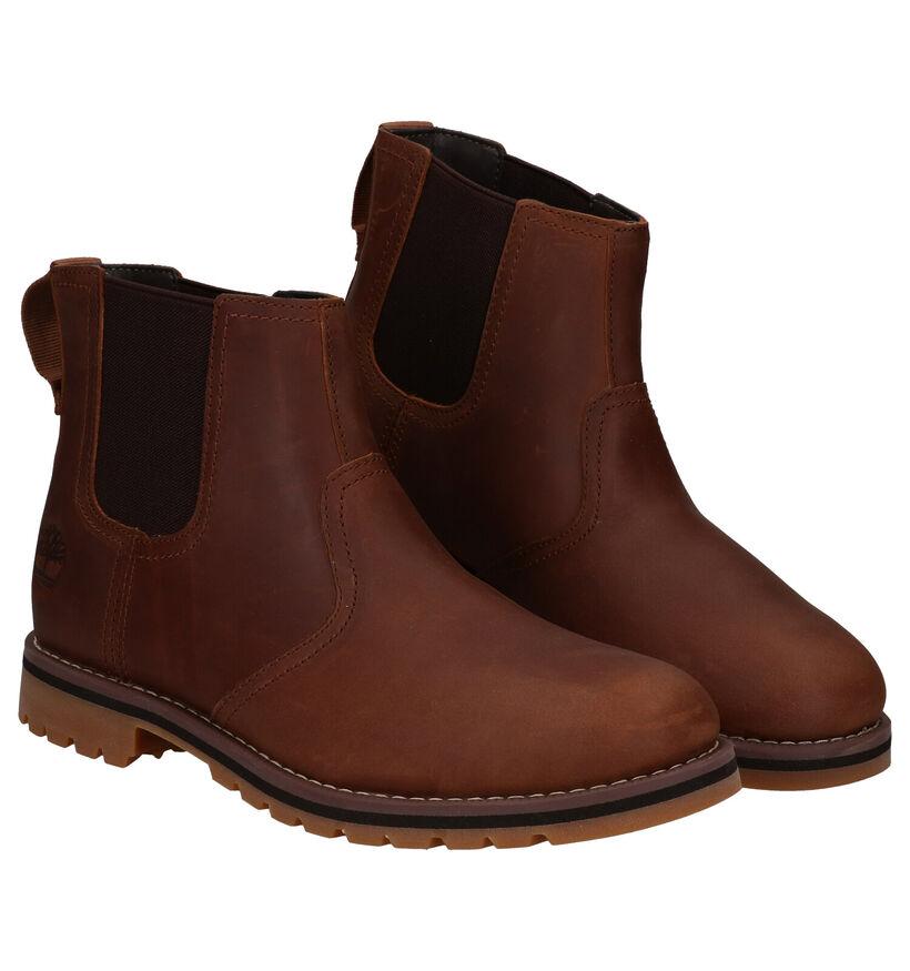 Timberland Larchmont Chelsea Cognac Boots in leer (278934)