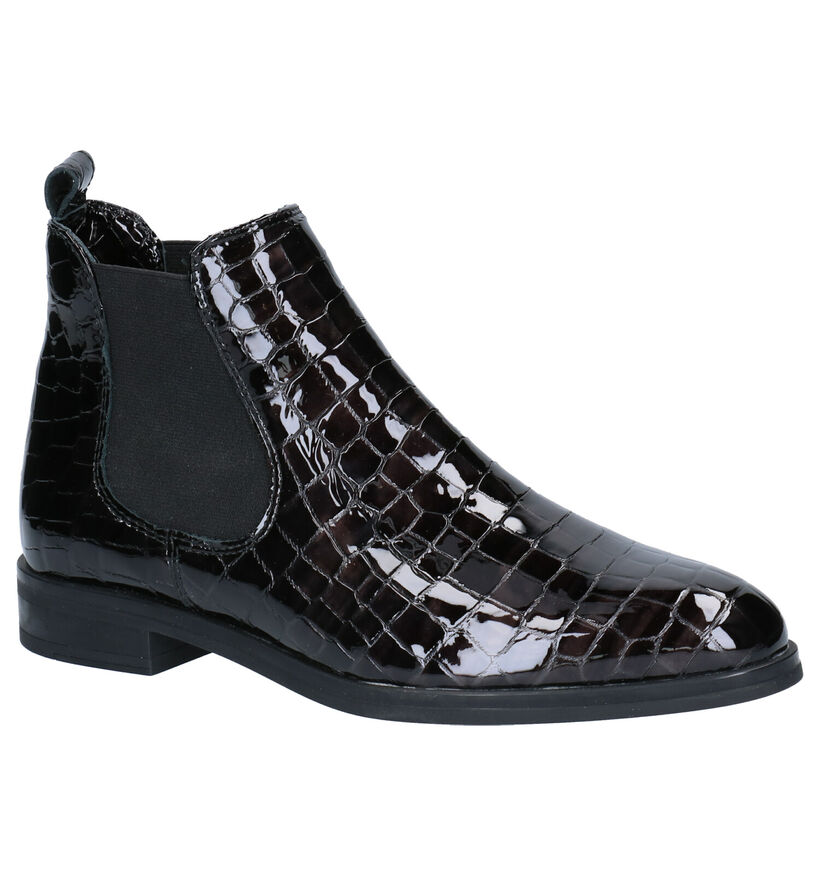 Hampton Bays Zwarte Chelsea Boots in lak (277835)