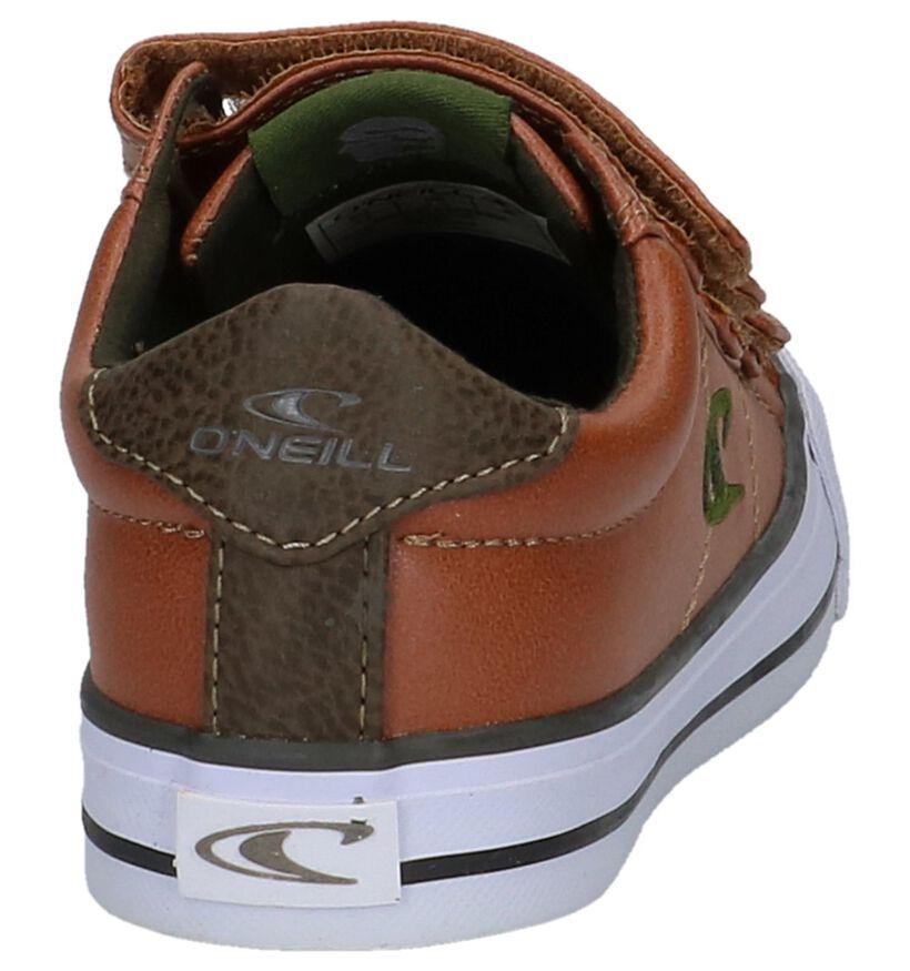 Cognac Lage Geklede Sneakers O'neill Sharky in kunstleer (214501)