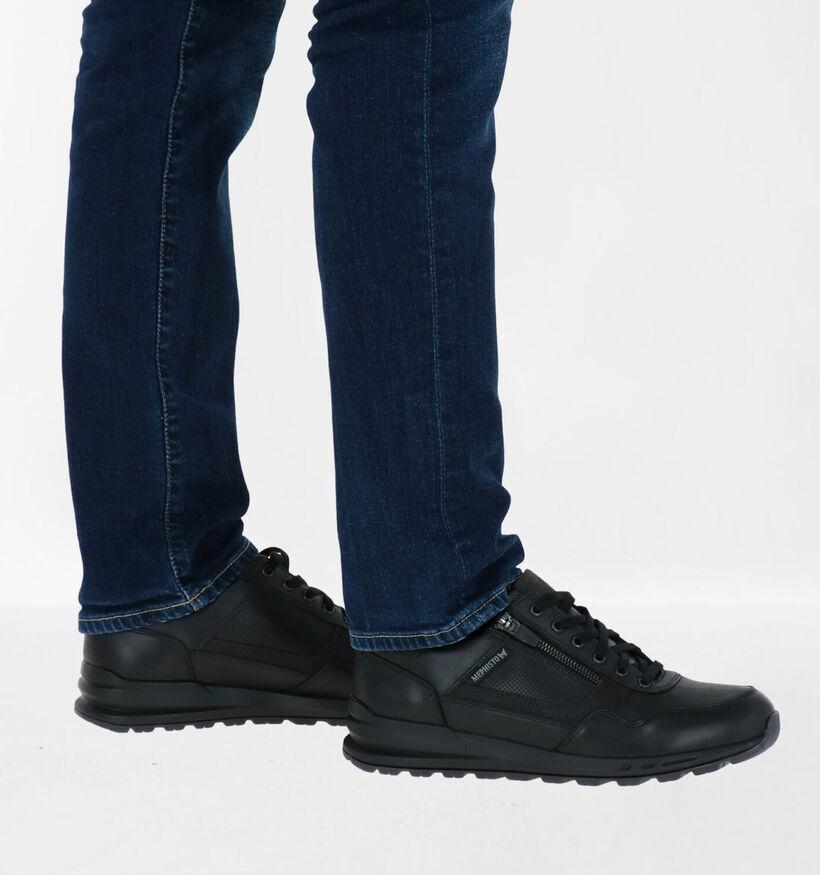 Mephisto Bradley Randy Chaussures à lacets en Noir en cuir (280910)