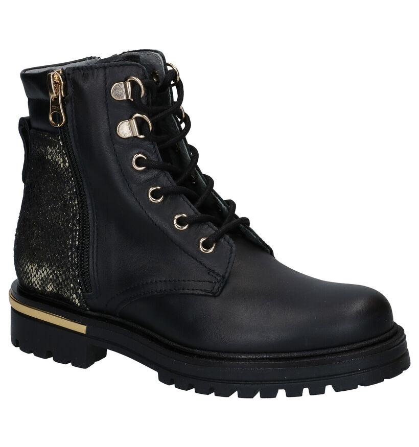 NeroGiardini Zwarte Boots in leer (282268)