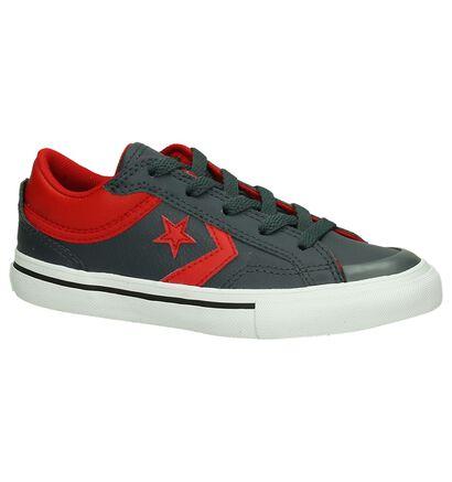 Converse Cons Pro Blaze Low Donker Grijs Sneakers, Grijs, pdp