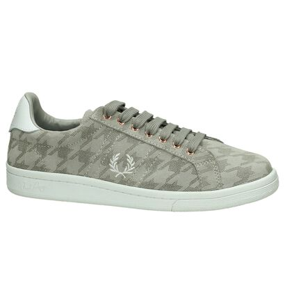 Fred Perry Taupe Sneaker in nubuck (201469)