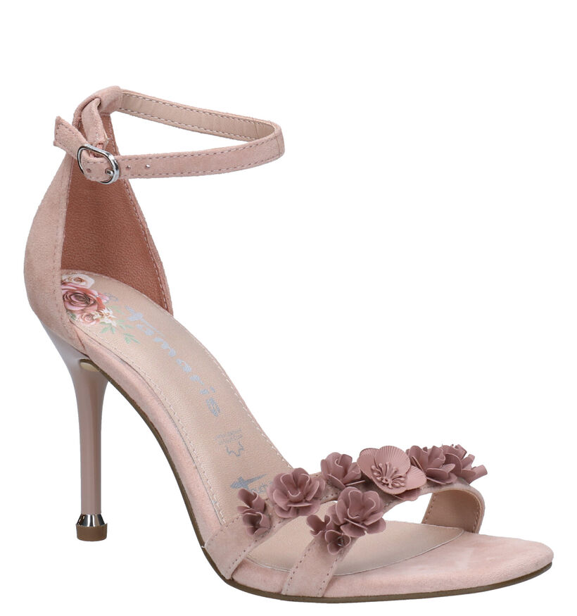 Tamaris TOUCH it Sandales en Rose en daim (270112)
