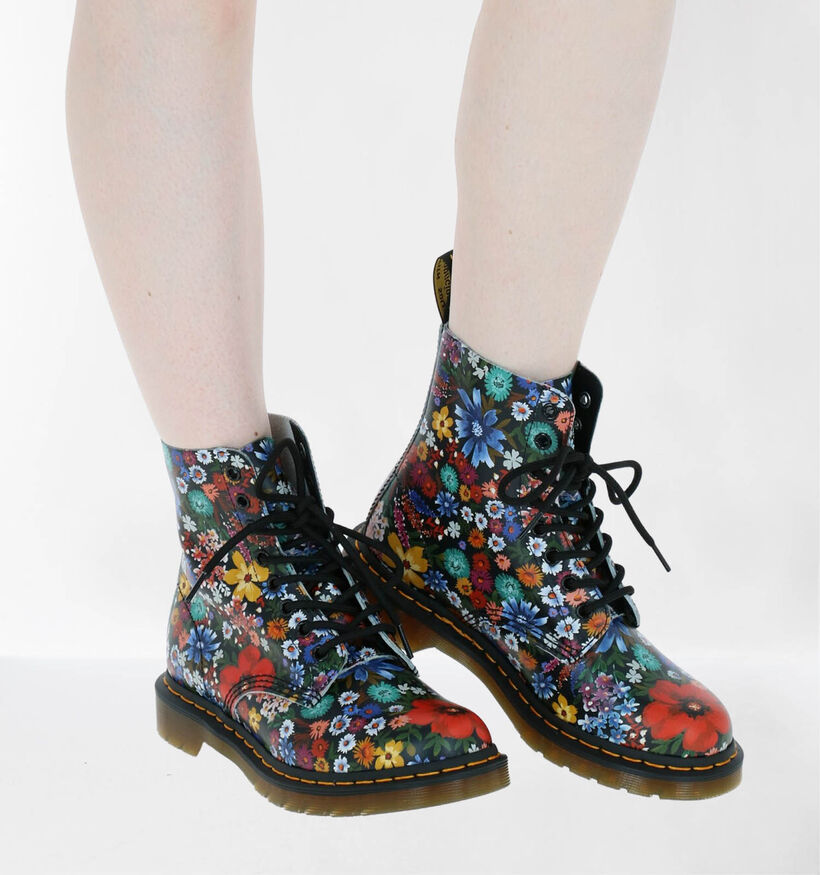 Dr. Martens 1460 Multicolor Boots in leer (277070)