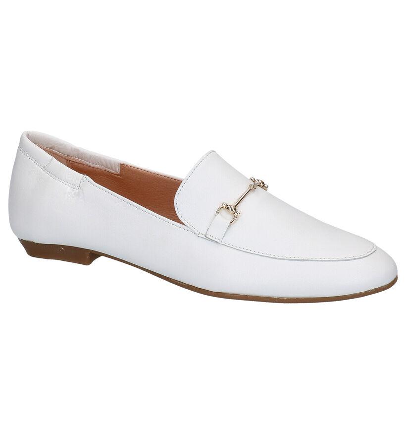 Scapa Loafers en Blanc en cuir (275079)