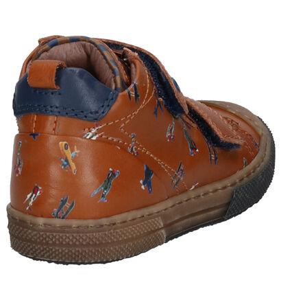 STONES and BONES Rocet Chaussures hautes en Cognac en cuir (255459)