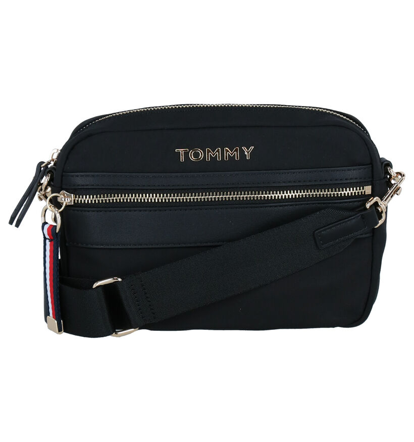 Tommy Hilfiger Zwarte Crossbody Tas in stof (276508)