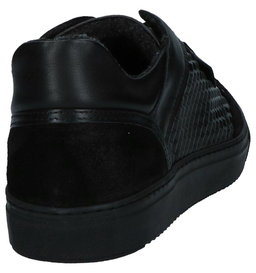 Borgo Sport Parma Zwarte Sneakers in leer (223690)