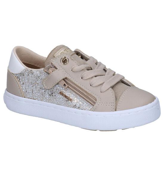Geox Kilwi Chaussures à lacets en Beige