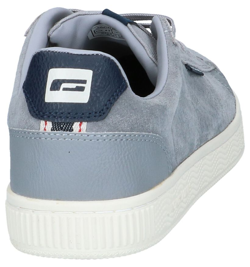Jack & Jones Chaussures basses en Gris en daim (240963)