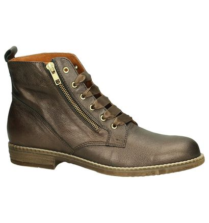 River Woods Cher Bronzen Bottines in leer (204284)