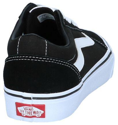 Vans Ward Zwarte Sneakers in stof (253457)