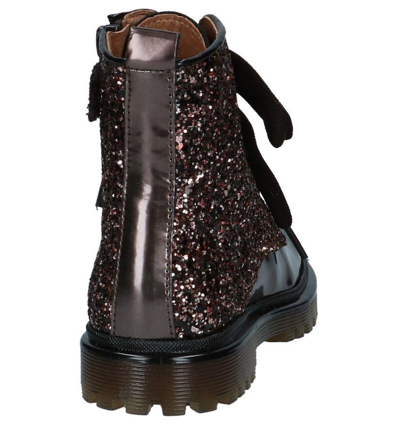 Romagnoli Chaussures hautes en Bronze en cuir (230212)