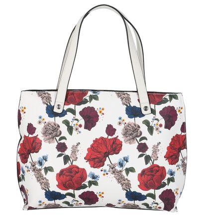 Witte Schoudertas met Bloemen Fiorelli Hampton, Wit, pdp