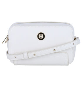 Tommy Hilfiger Honey Witte Crossbody Tas in kunstleer (285785)