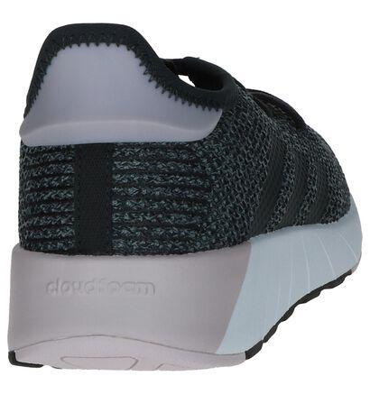 adidas Questar X Byd Baskets en Gris en textile (237053)