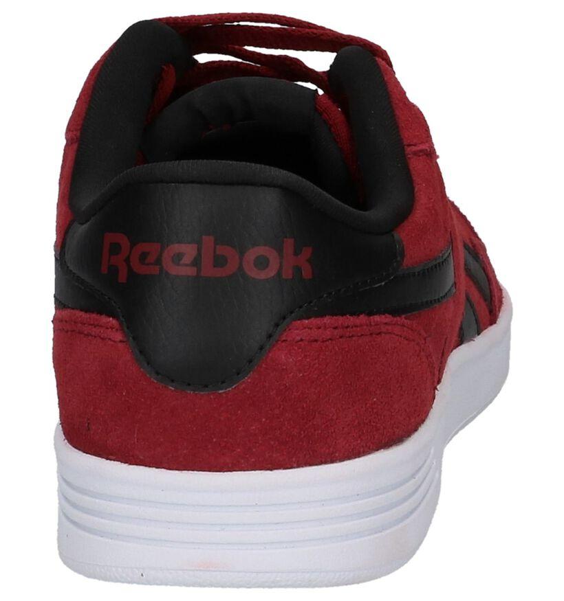 Reebok Royal Techqu Baskets en Bordeaux en textile (221716)