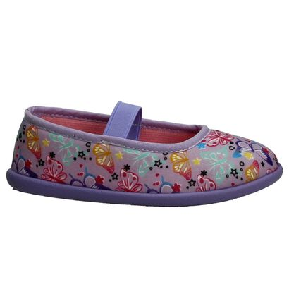 Maison Dees Petits Pieds Paarse Pantoffels, Paars, pdp