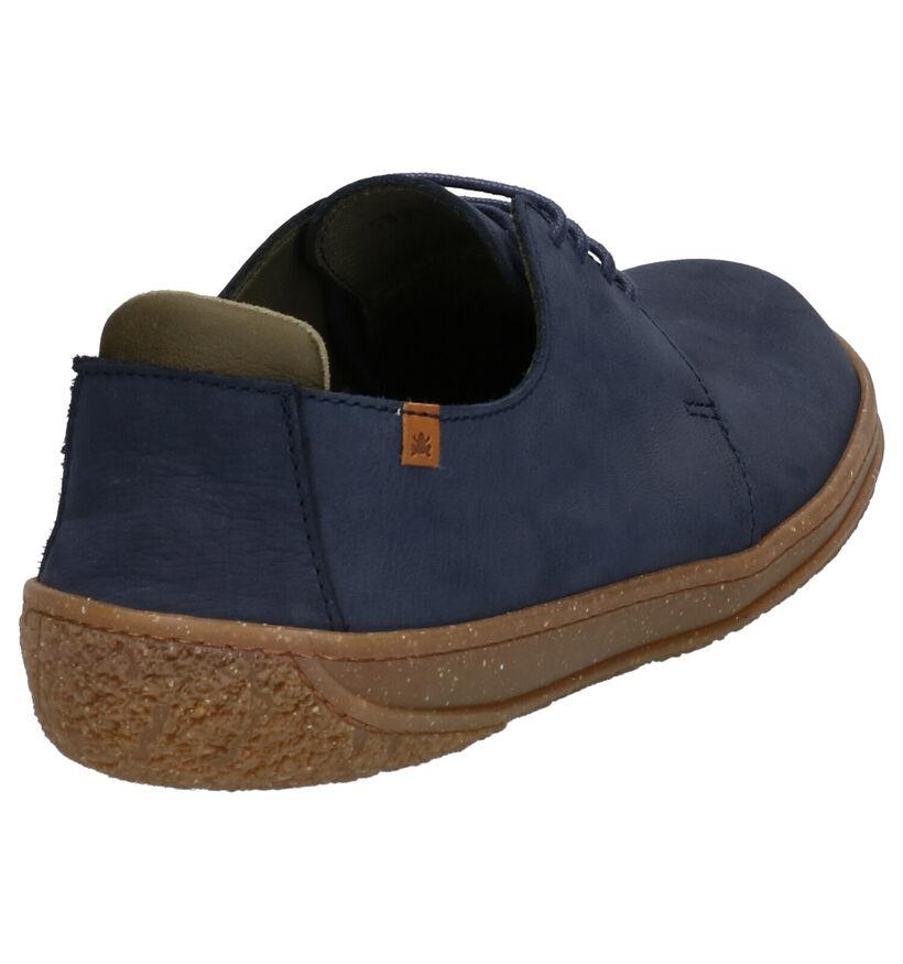 El Naturalista Amazonas Chaussures à lacets en Bleu en nubuck (270360)