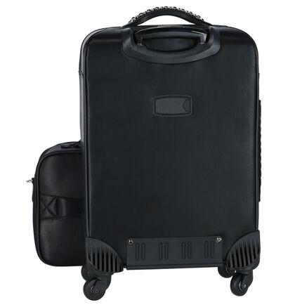 Zwarte Olivia Lauren Chicago Handbagage in kunstleer (220659)