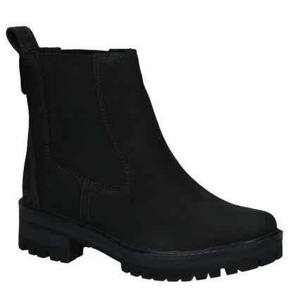 Timberland Courmayeur Zwarte Boots in nubuck (255293)