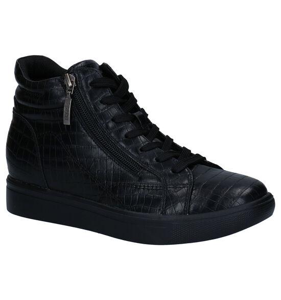 Esprit Granada Zwarte Hoge Sneakers