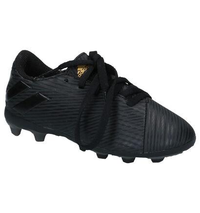 adidas Nemiziz Messi Zwarte Voetbalschoenen in kunstleer (252889)