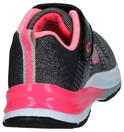 Zwart/Roze Sneakers Skechers Girl , Zwart, pdp