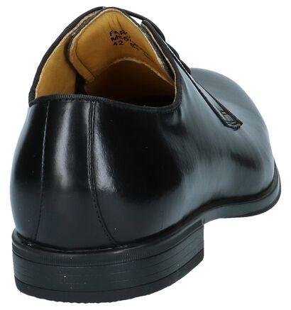 Zwarte Geklede Veterschoenen Steptronic Faro , Zwart, pdp