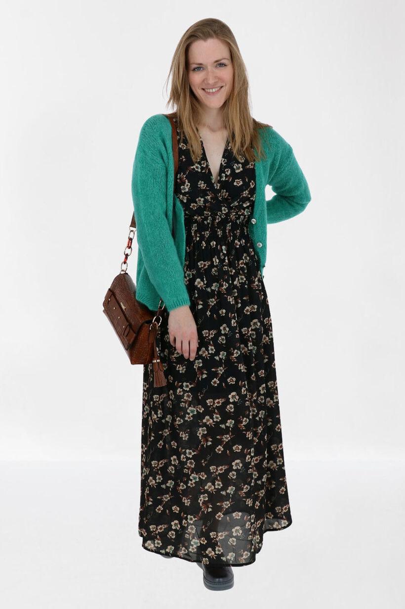 Black Flower Dress, , pdp