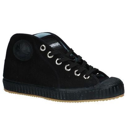 Komrad Spartak Zwarte Sneakers in stof (234039)
